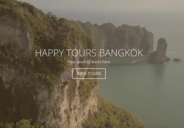Happy Tours Website