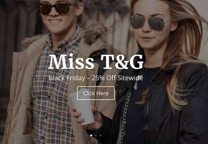 Miss T&G Website